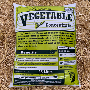 Vegie Concentrate (Certified Organic) 25L Pack of 5