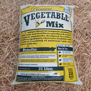 Vegie Mix (Certified Organic) 25L
