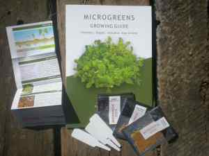Microgreens growing kit 'B'