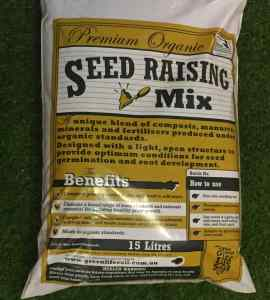 seed raising mix bag