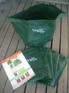 Vegie Grow Bags - pack of 5